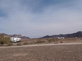 Midland LTVA Dispersed - RV Park of Quartzite, AZ